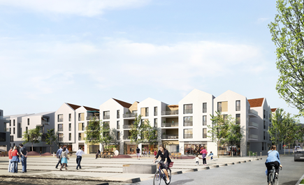 Construction de 85 logements zac du centre bourg laurentinois ilot a5 saint laurent de mure - Garage saint laurent de mure ...